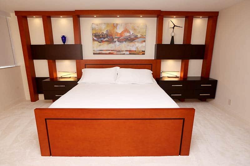 high-end bedroom unit
