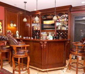 custom build home bars