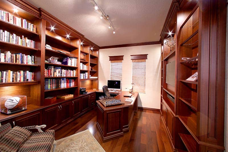 Custom home office cabinetry West Palm Beach.