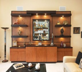 Custom entertainment Centers