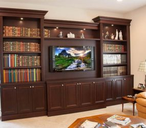 Custom entertainment Center, West palm Beach
