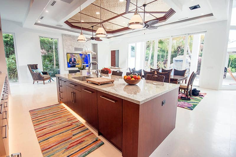 High End Custom Kitchen Cabinetry