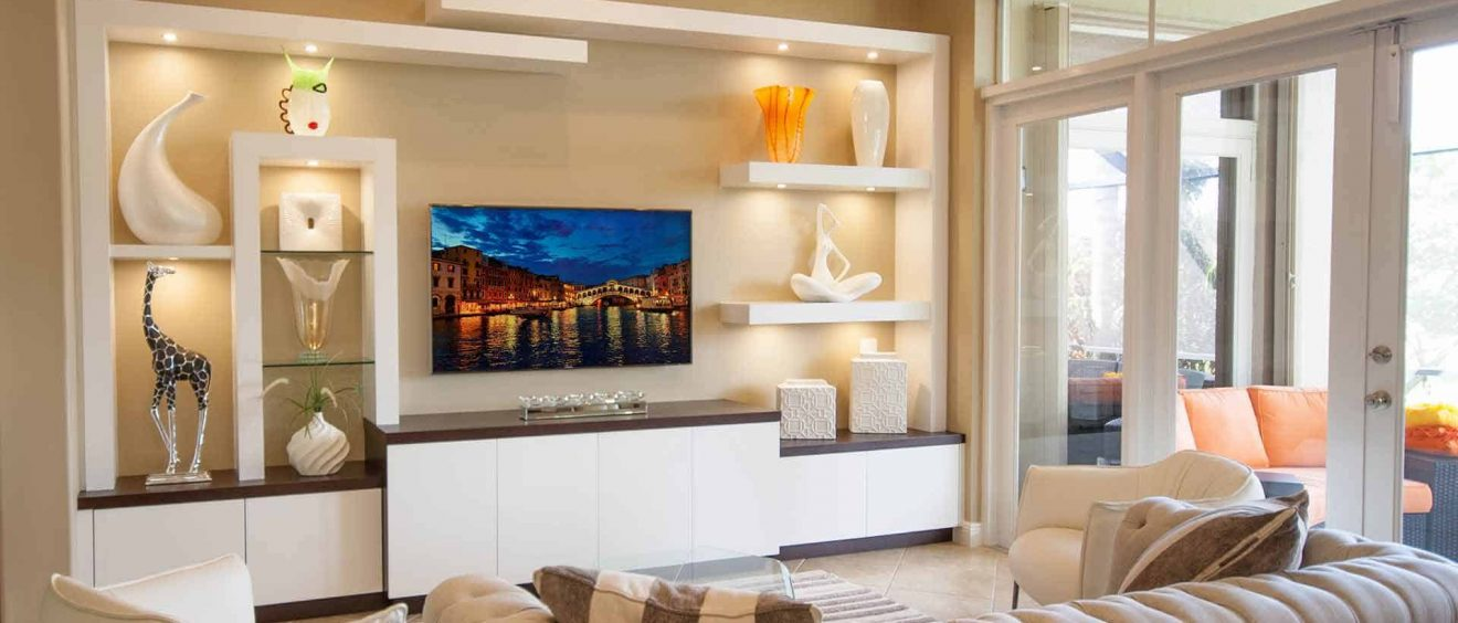 Room Layout Ideas For A Custom Entertainment Center In Fort Lauderdale